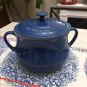 Le Creuset Stoneware 4.5-quart Heritage Bean Pot